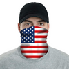 USA American Flag Neck Buff