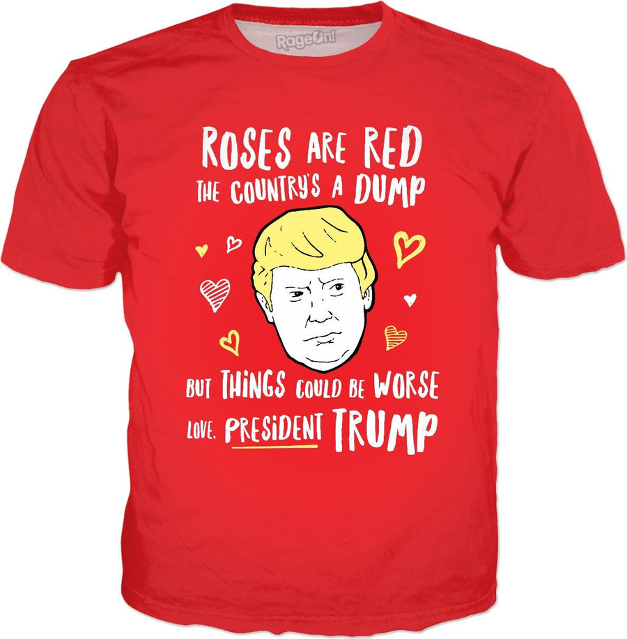 Donald Trump Valentines Card T-Shirt