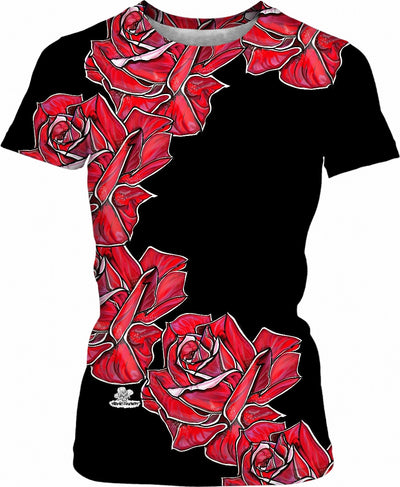 Roses for the Ladies Woman's T