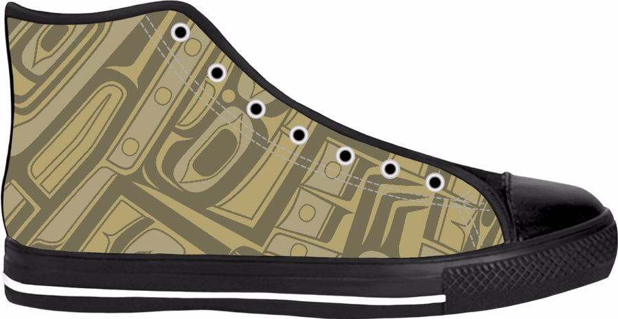 Olive Chilkat Hightops