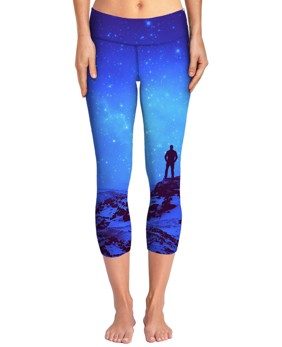 Lost the Moon While Counting Stars Yoga Pants