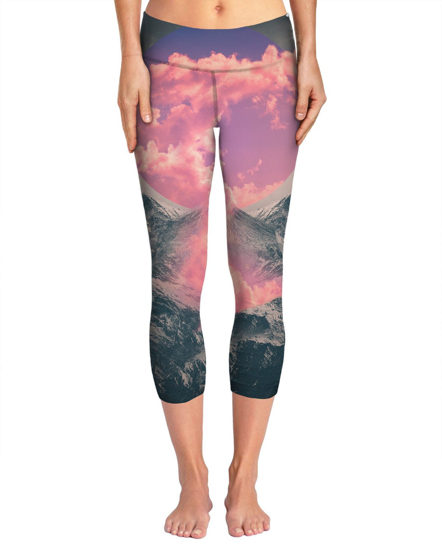 Ruptured Soul | Volcanic Clouds Yoga Pants