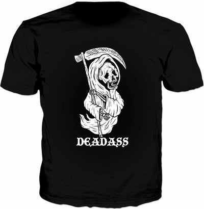 DeadAss Grim Reaper T-Shirt - Death Halloween