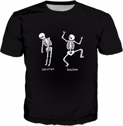 Skeletoff Skeleton T-Shirt - Funny Skeleton Joke Meme