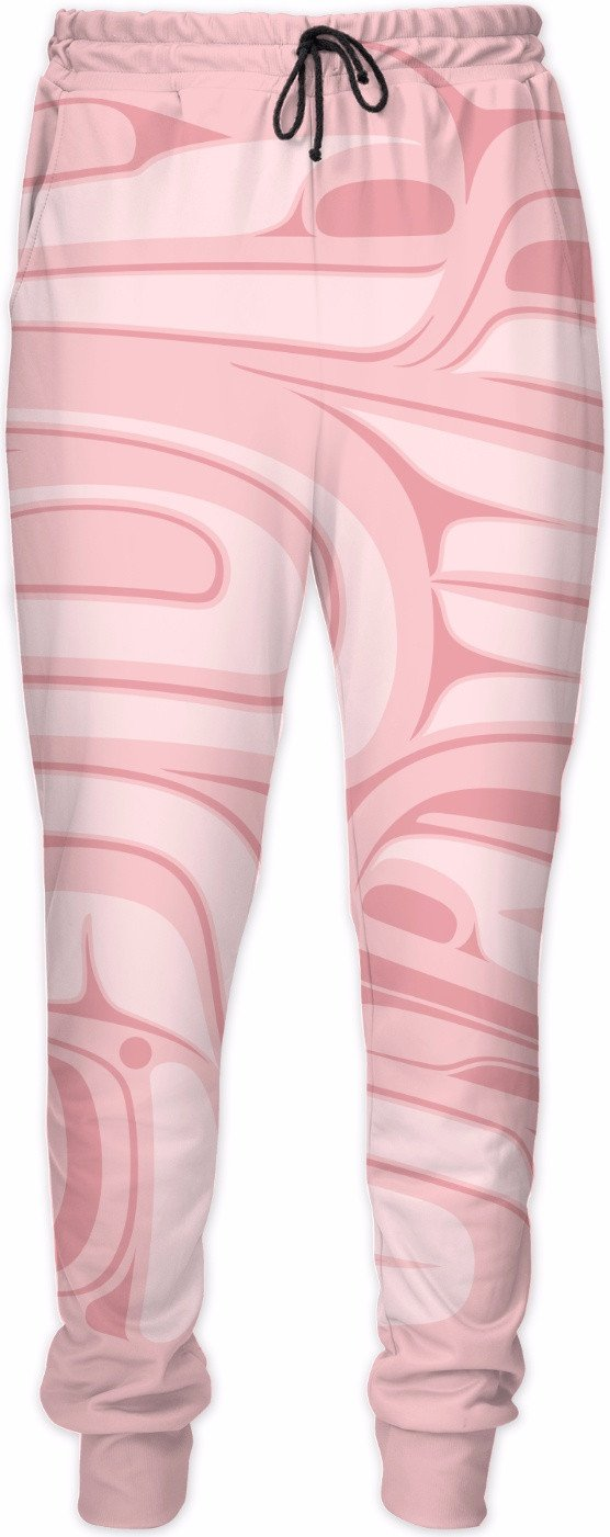 Two eagles pink joggers