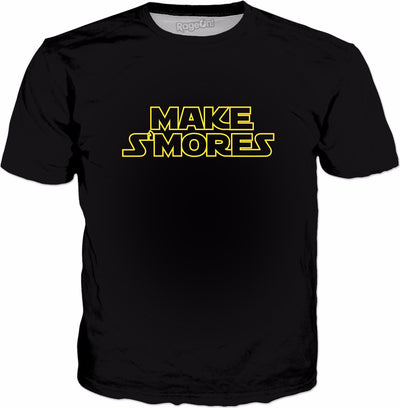 Make S'mores T-Shirt - Funny Marshmallow Campfire