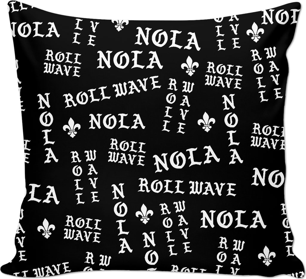 NOLA Roll Wave Couch Pillow