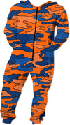 """Orange & Blue Camo"" Onesie"