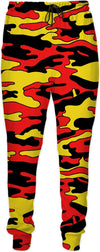 """Red & Yellow Camo"" Joggers"