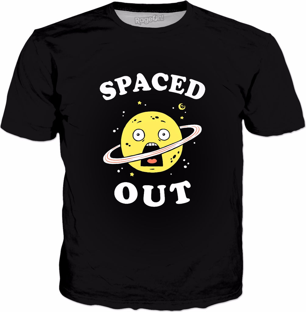 Spaced Out T-Shirt - Funny Space Science Planet