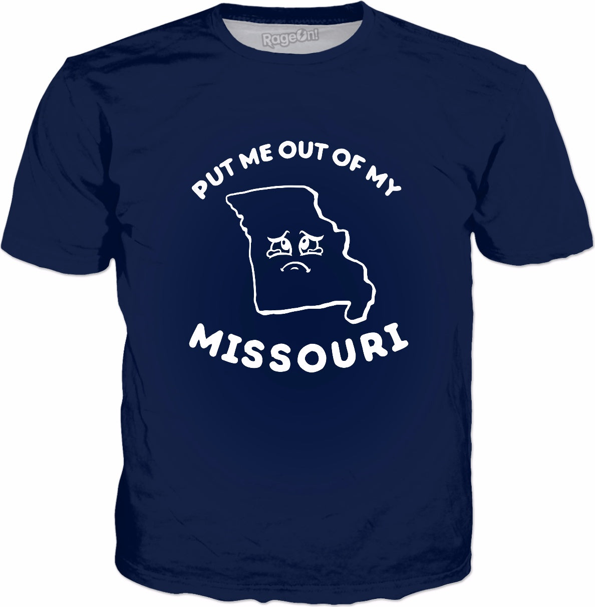 Put Me Out Of My Missouri T-Shirt | Funny Saying State Tee