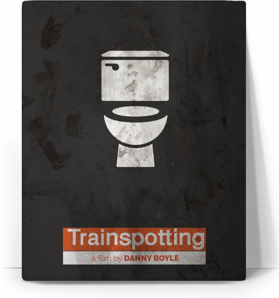 TrainSpotting Movie Poster Canvas