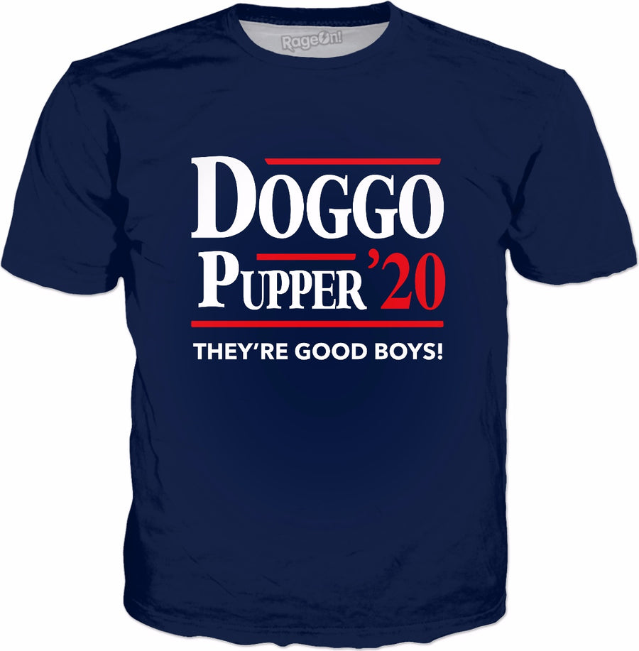 Doggo Pupper 2020 T-Shirt - Funny Dogs Puppies Meme