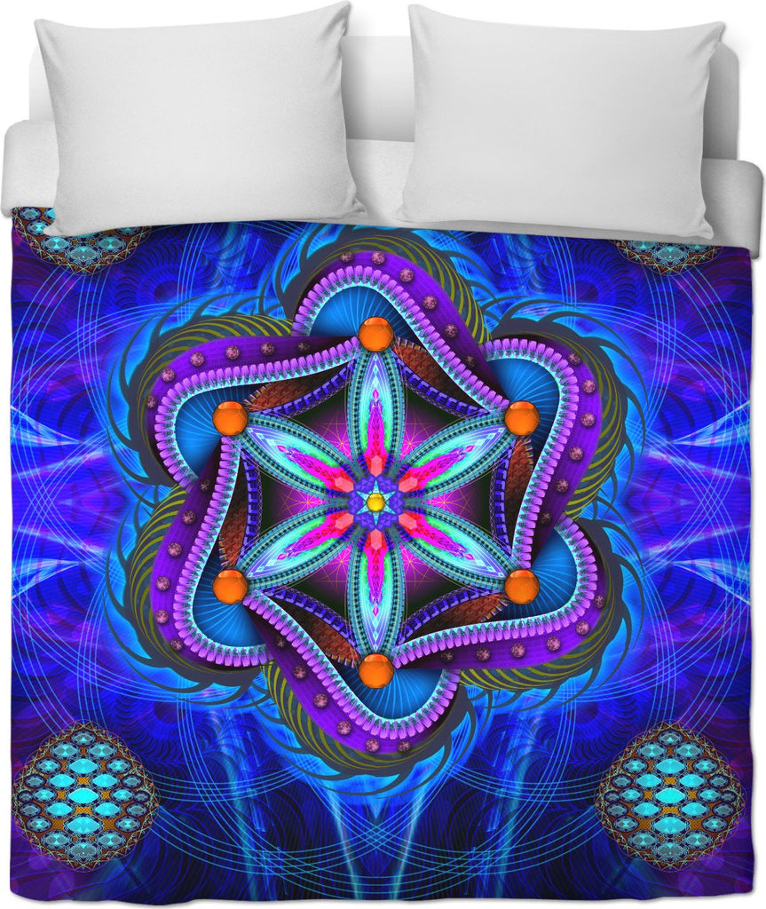 Seed of Life Duvet Cover