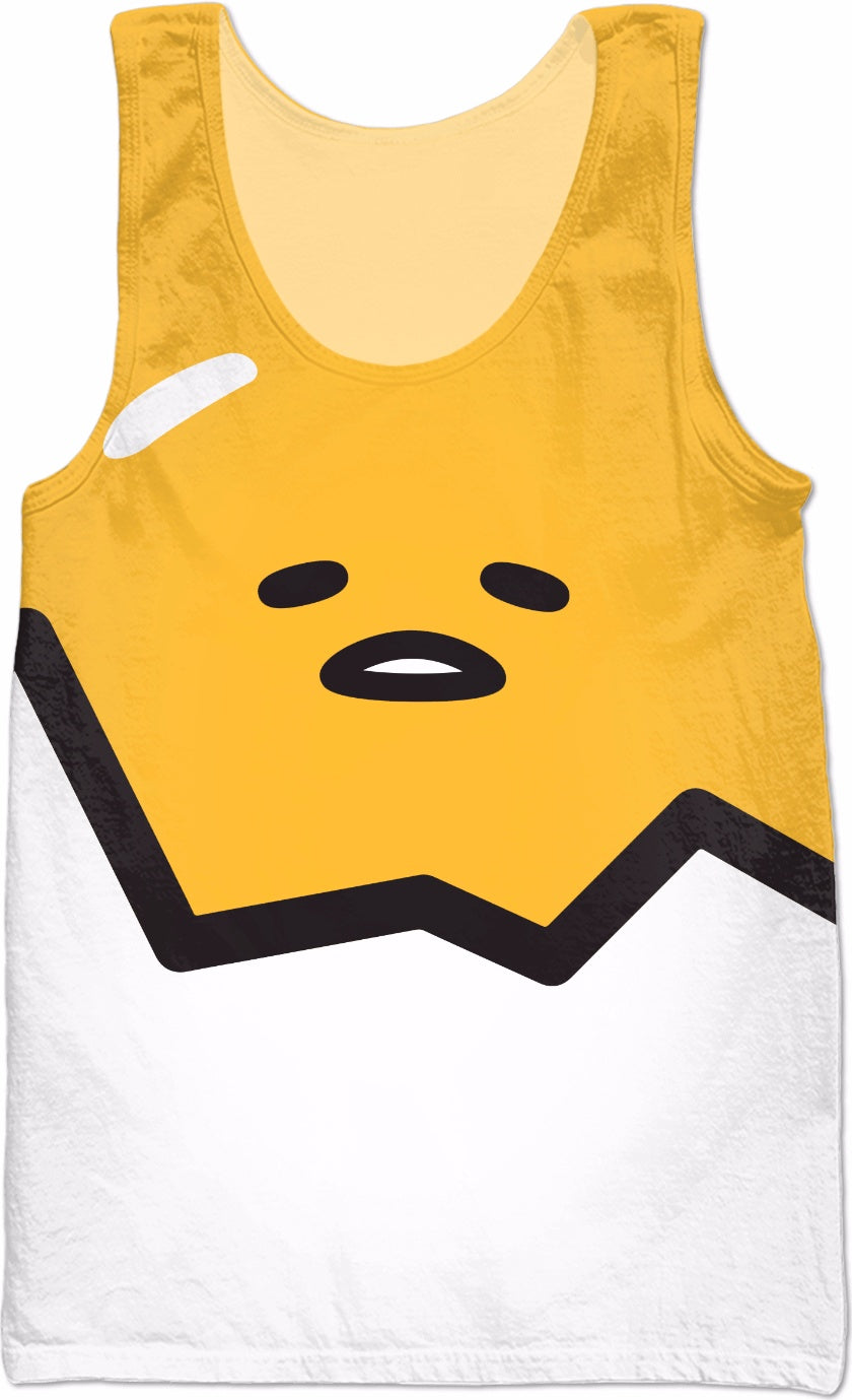 Gudetama Shell Tank Top