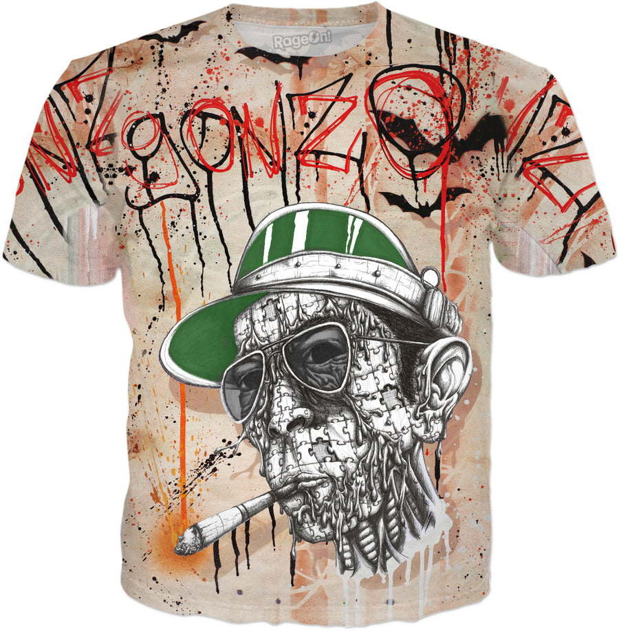 "Gonzo ""Bat Country"" All-Over-Printed Tee"