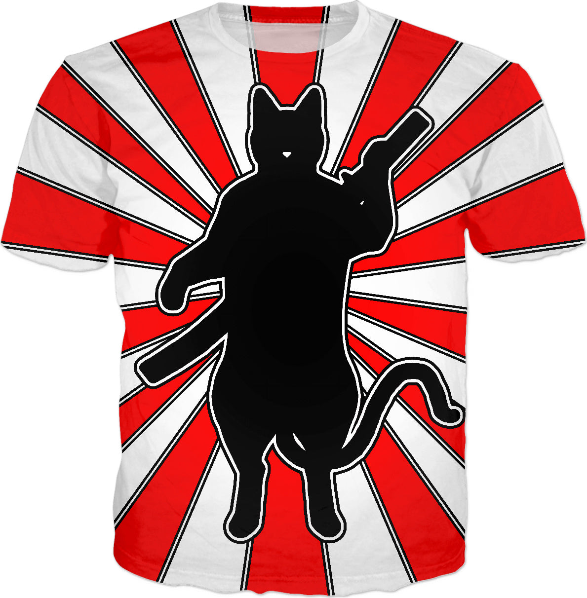 MeowsterS Rising Sun Ninja Cat