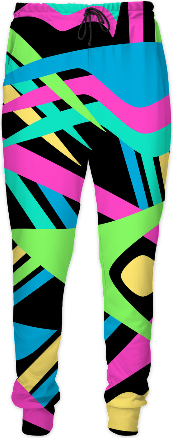 Neon Puff Joggers