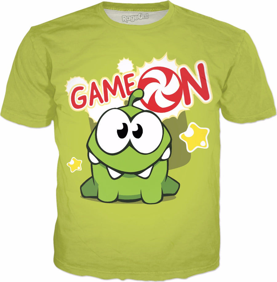 Om Nom Game On T-Shirt