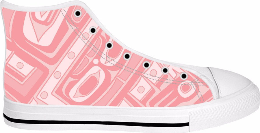 Pink Coral Chilkat Hightops