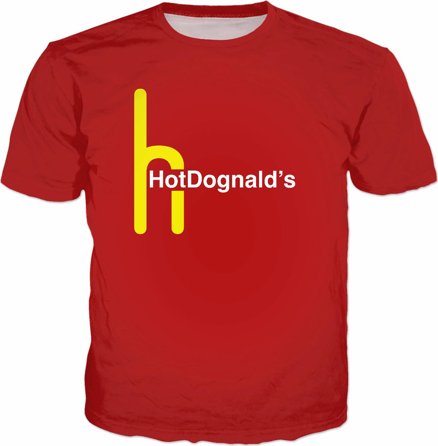 HotDognalds T-Shirt - Hot Dog Parody Meme