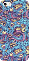 Eyeballs and Teeth Monster Pattern