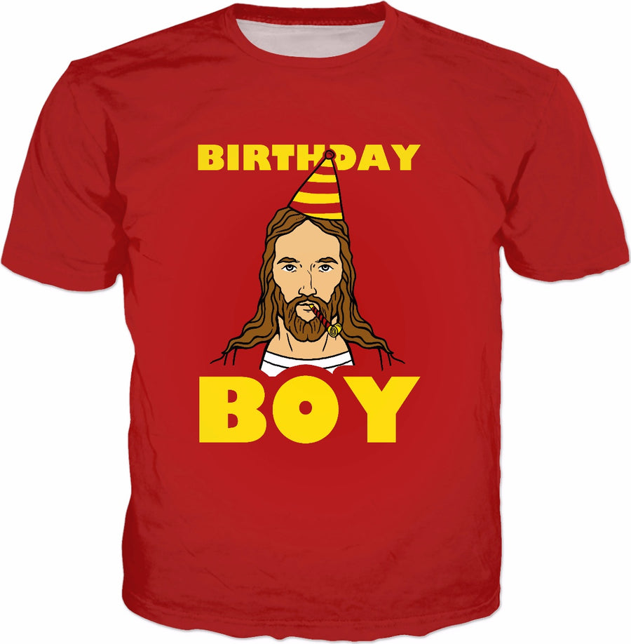 Birthday Boy T-Shirt - Funny Christmas