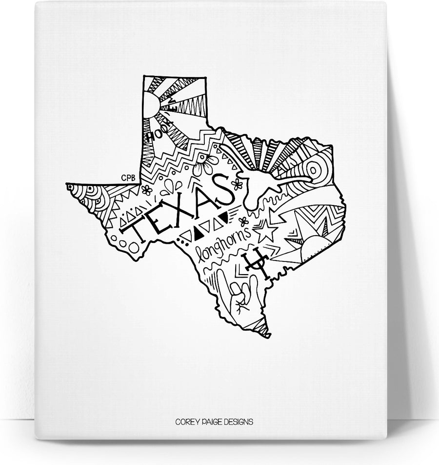 Texas Drawing Canvas