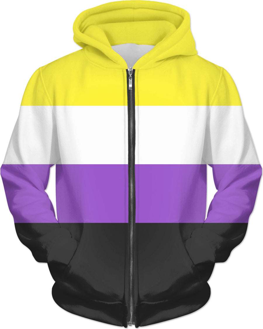 Solid Non-Binary Pride Flag