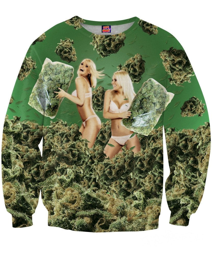 420 Pillow Fight Sweatshirt
