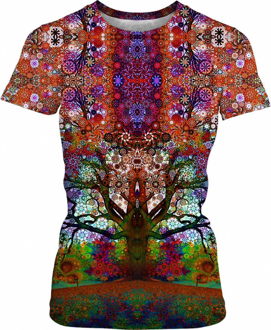 Trip Tree Womens T-Shirt