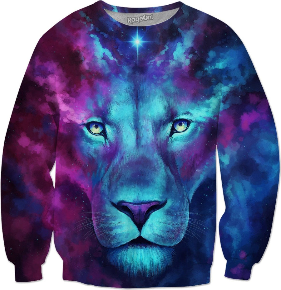 Firstborn Galaxy Lion Sweater