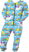 Unicorns & Rainbows Pattern Onesie
