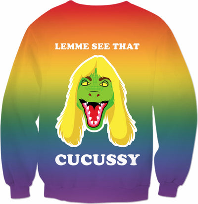 Lemme See That Cucussy Crewneck Sweatshirt