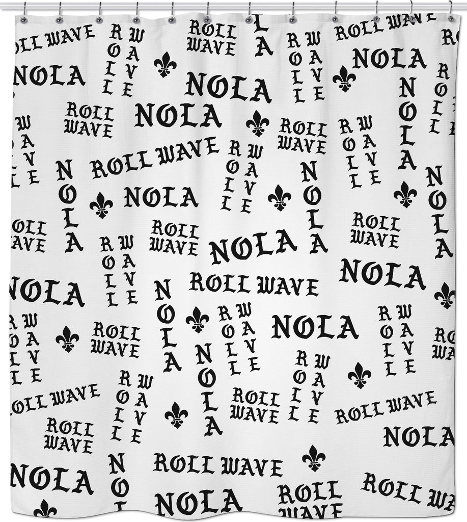NOLA Shower Curtain