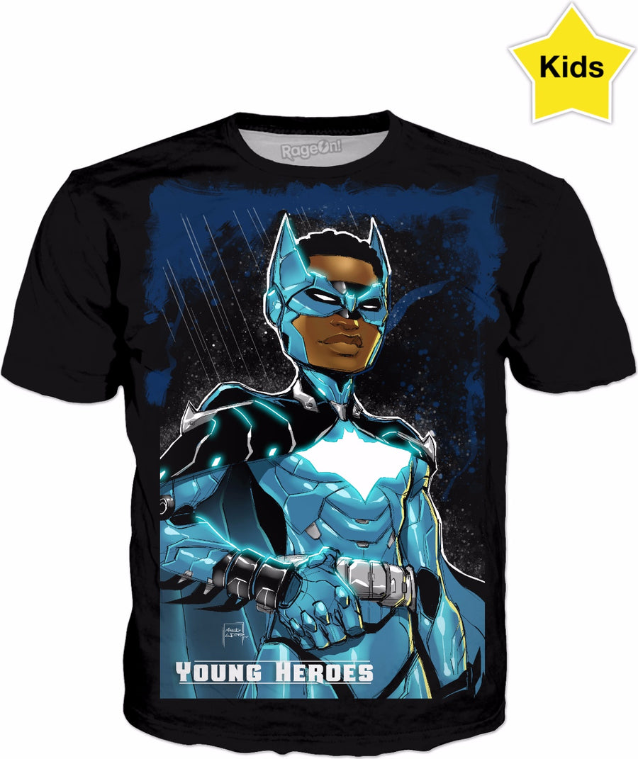 Young Heroes: Unlimited (Limited Edition Kids Shirts)- Bat Wing