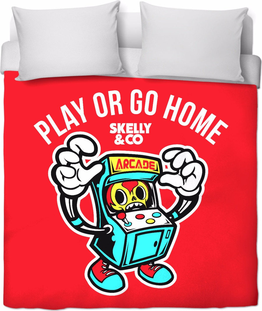 Let's Play Duvet Cover