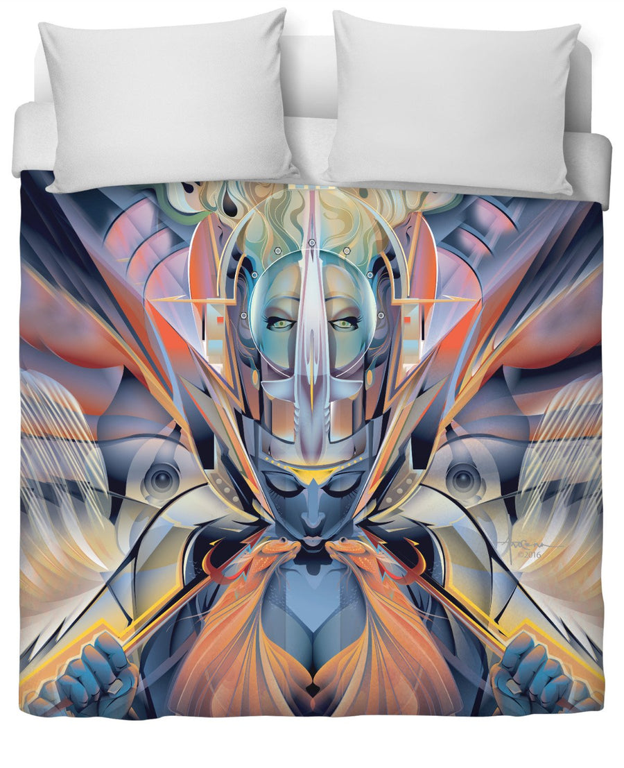 Mermaid's Kiss: Duvet Cover by Mexifunk