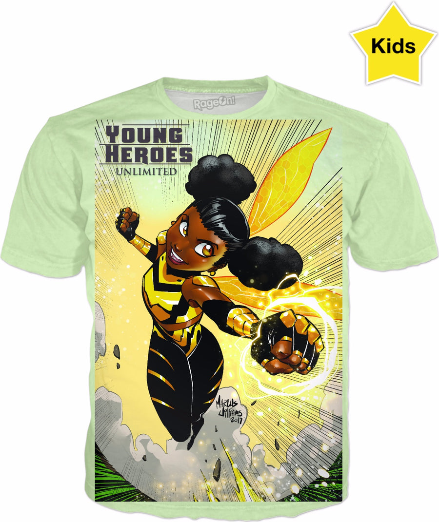 Young Heroes: Unlimited (Limited Edition Kids Shirts)- Bumble Bee