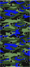 """Camo Stars"" Beach Towel"