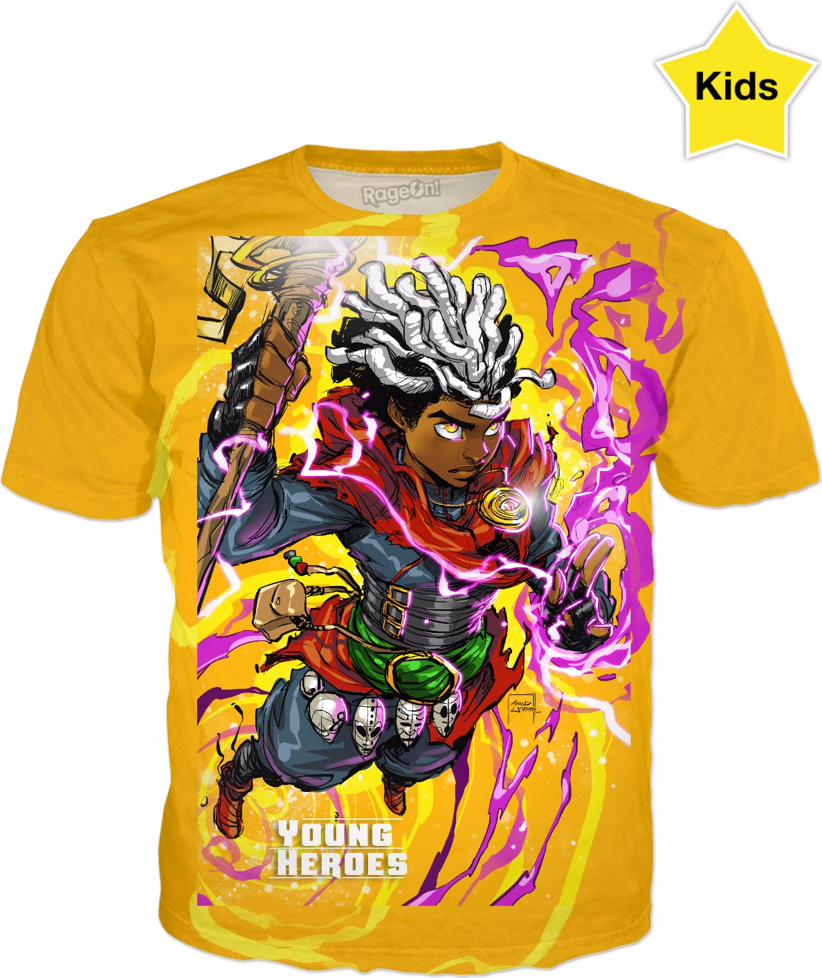 Young Heroes: Unlimited (Limited Edition Kids Shirts)- Brother Voodoo