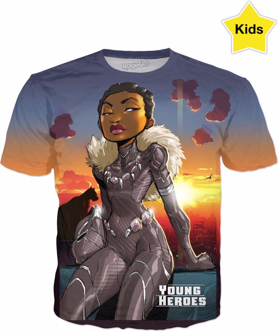 Young Heroes: Unlimited (Limited Edition Kids Shirts)- Shuri