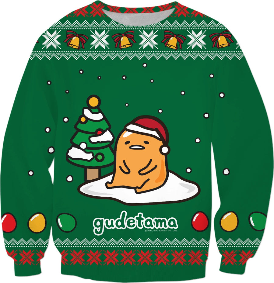 Gudetama Ugly Christmas Sweater