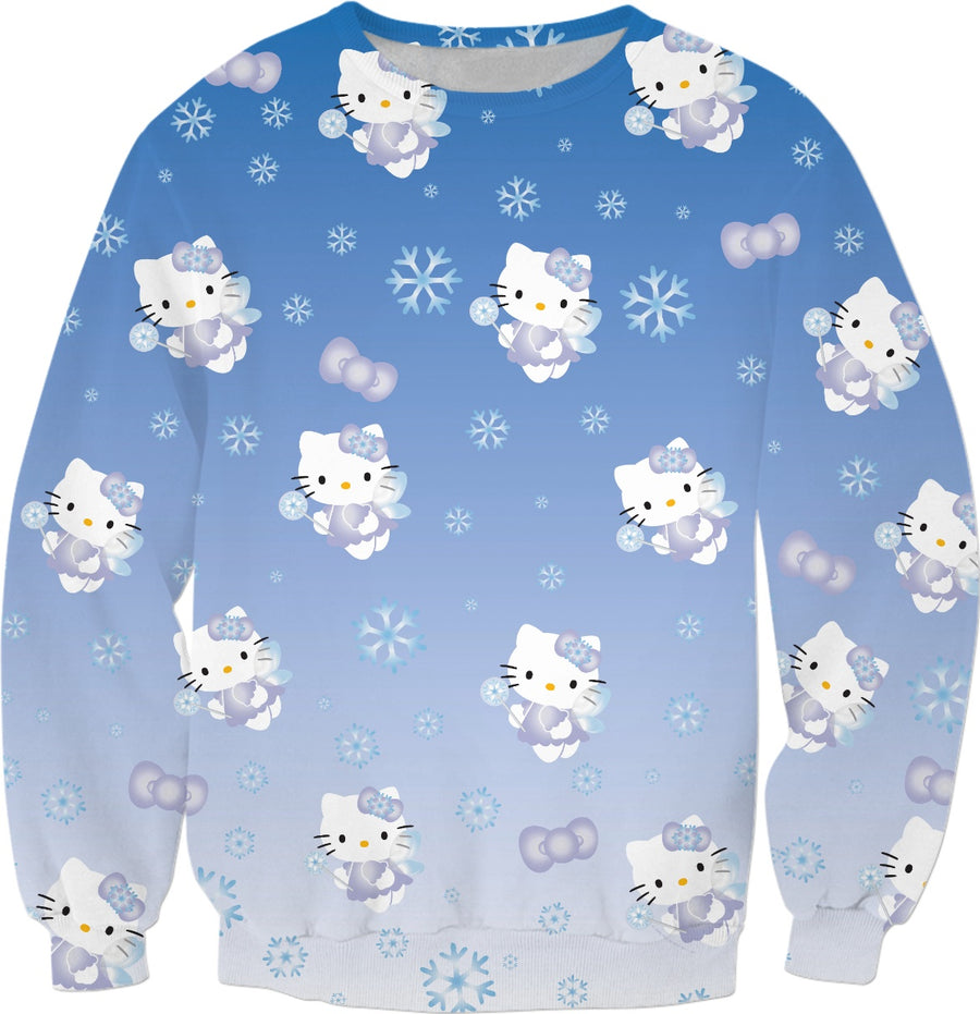 Hello Kitty Snow Fairy Christmas Sweater