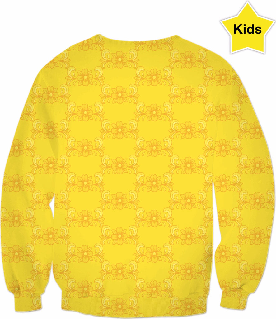 Kids' Yellow Rose Sweatshirt