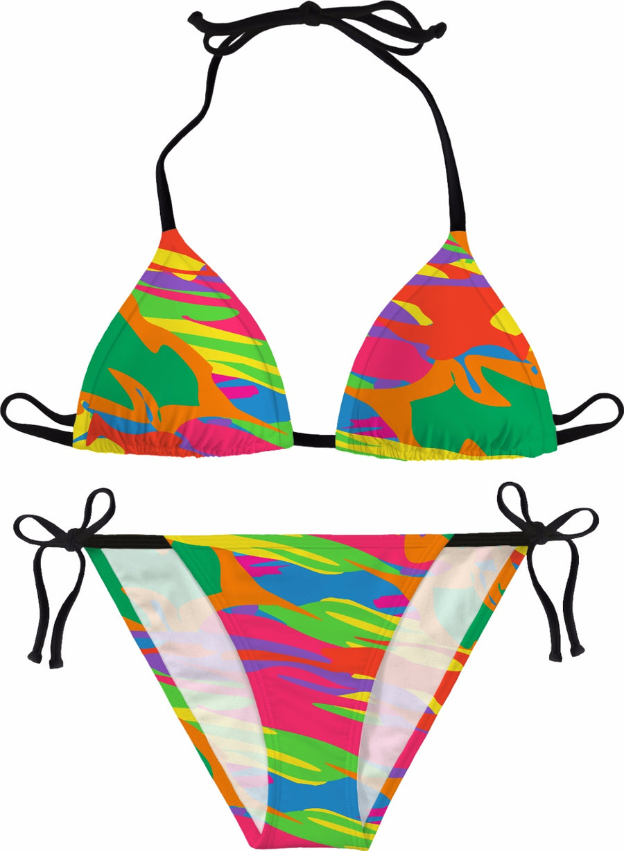 party camo bikini