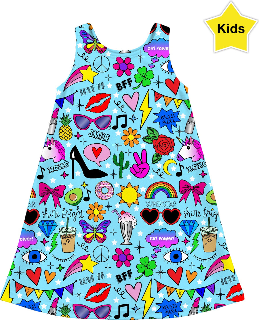 Glam Girl Kids Dress