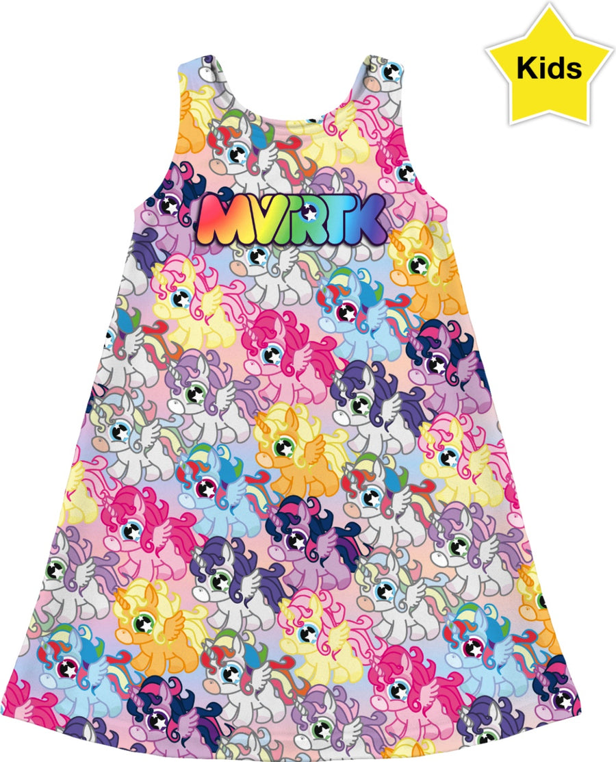 MVTRTK ALICORN Kids Dress