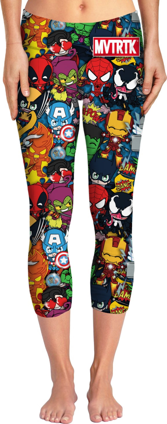 MVTRTK SUPER HEROES Yoga Pants