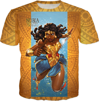 Nubia-Wonder Woman of the Orishas